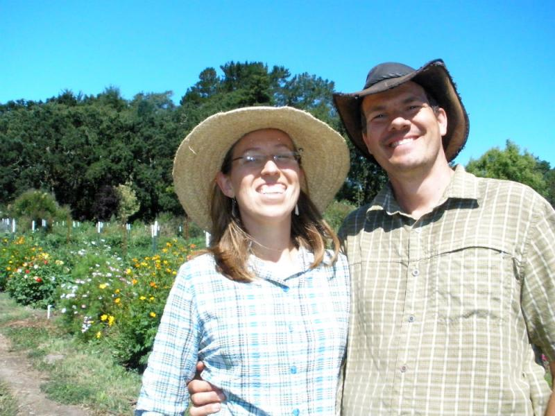Elizabeth and Paul Kaiser of Singing Frogs Farms