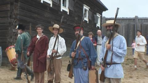Fort Ross was an outpost with its own militia, and the Festival includes some re-enactments of their presence.