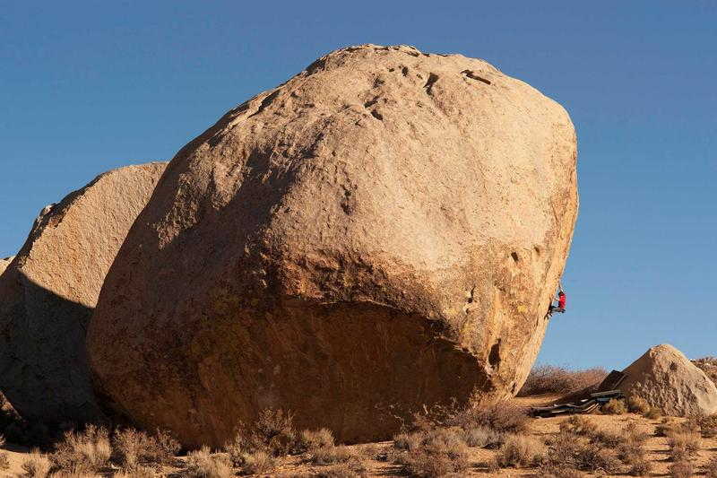 When rock climbing means BIG rocks