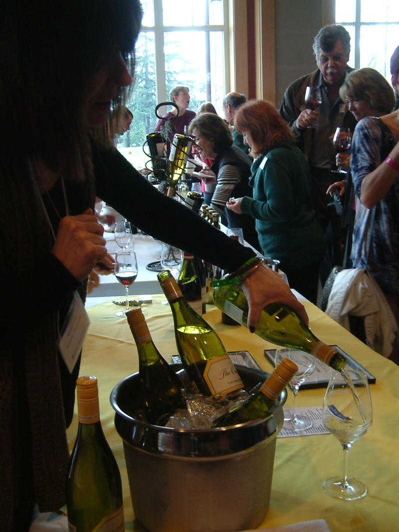 The 1st Annual SRJC Wine Classic was sold out on Sunday