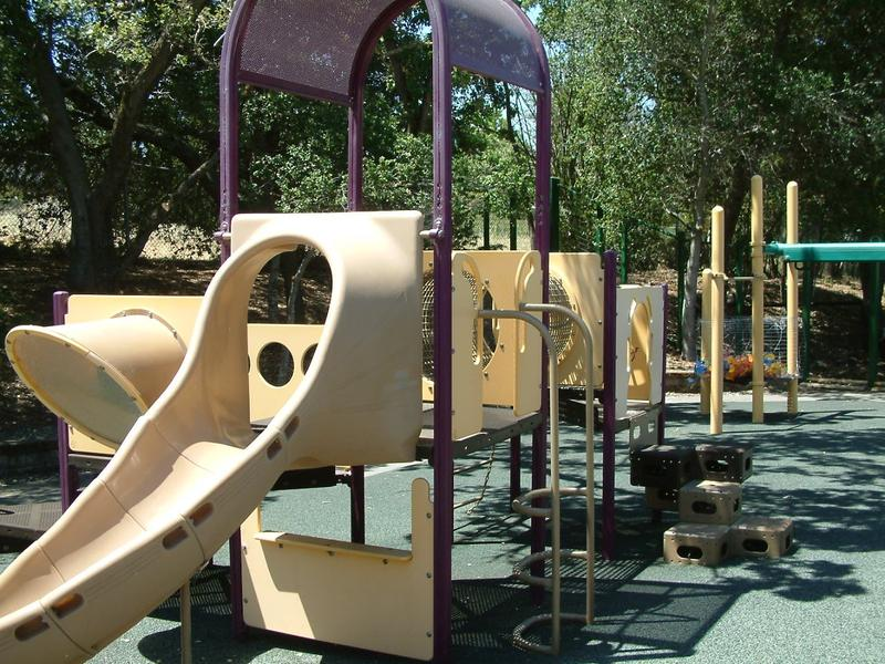 Outdoor children's play area