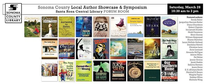 A gathering of local writers, hosted by the Sononma County Authors Project earlier this year, drew an enthusiastic audience to the main Santa Rosa library.