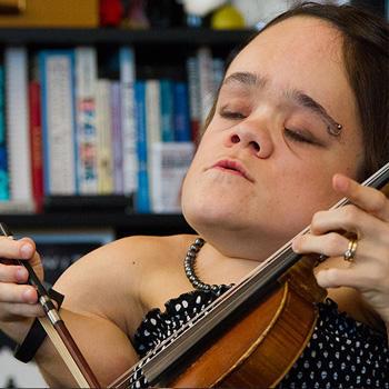 Gaelynn Lea, winner of NPR's 2016 Tiny Desk Music Contest