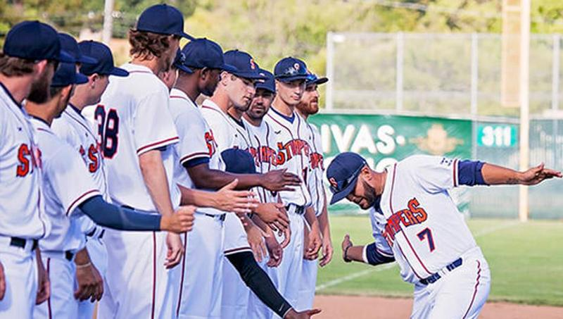The Sonoma Stompers may not enjoy all the technical benefits that major league teams do, but they're still playing the same game.