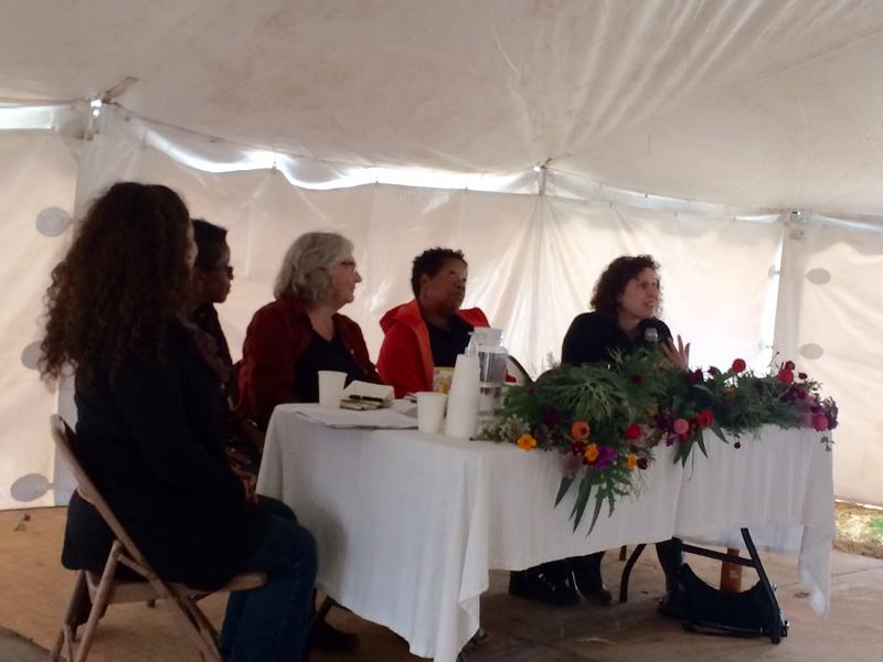 "Farmers and advocates on the ""Foundations"" panel discuss their experience in agriculture."