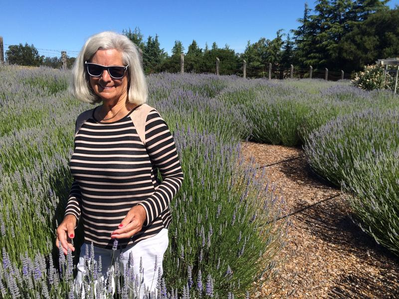JoAnn Wallenstein has been running Lavender Bee Farm with her husband for 17 years.