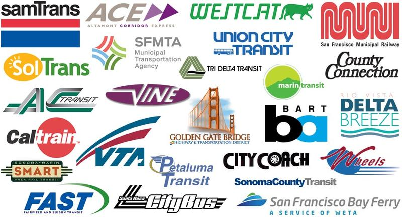 The MTC works with--and allocates funding to--a long list of Bay Area transportation agencies.