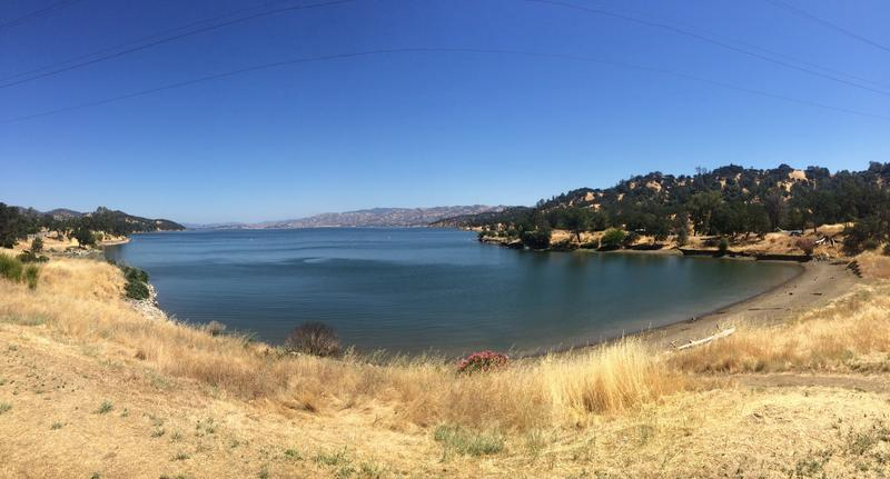 A view of Lake Berryessa from Steele Canyon Recreation Area. The park offers a fraction of the amenities that were available before 2009.