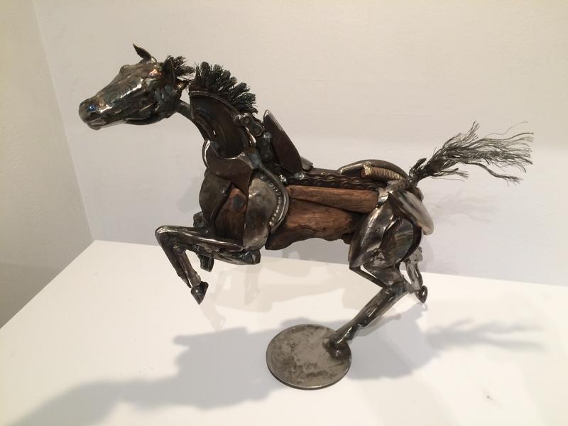 Sonoma County sculptor Bryan Tedrick's horse rendition.