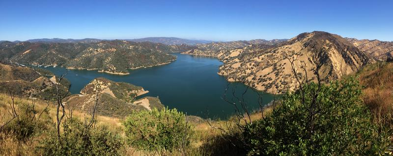 Trails in the monument offer stunning views of Lake Berryessa and the Snow Mountain region.