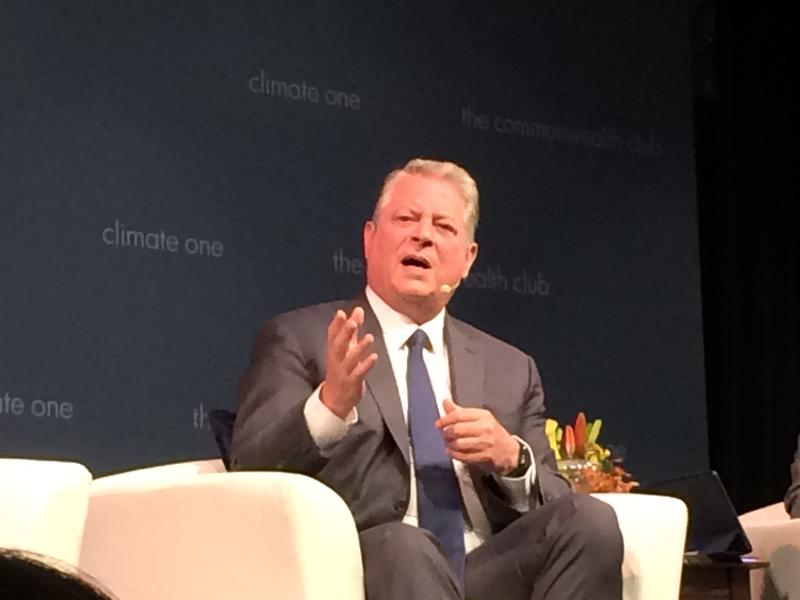 Al Gore in San Francisco July 24, 2017