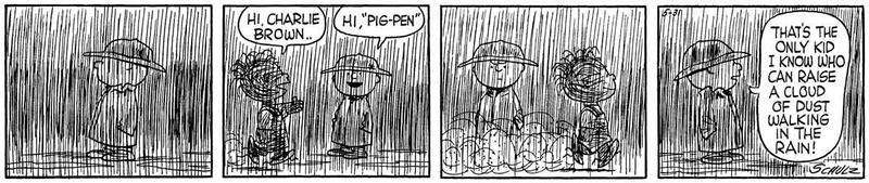 Pigpen Peanuts Strip