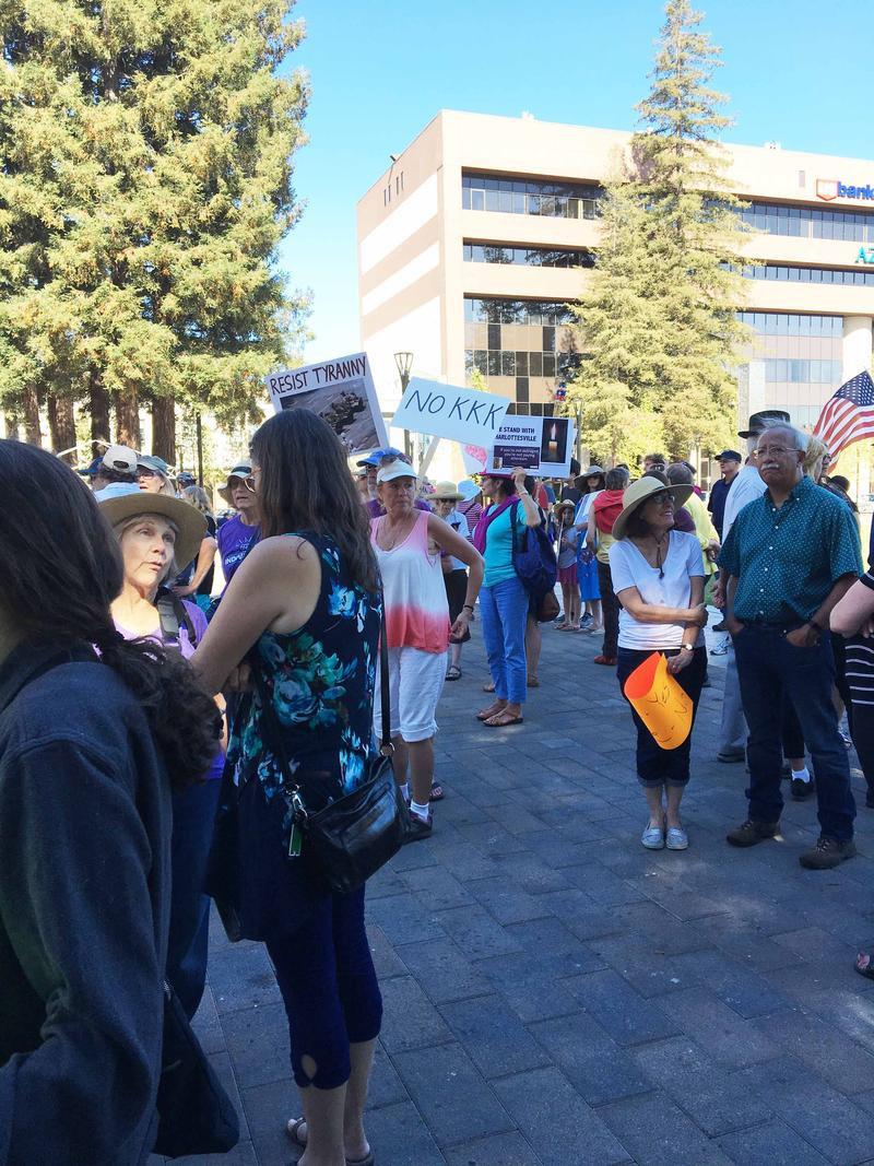 Anti-racism march in Santa Rosa