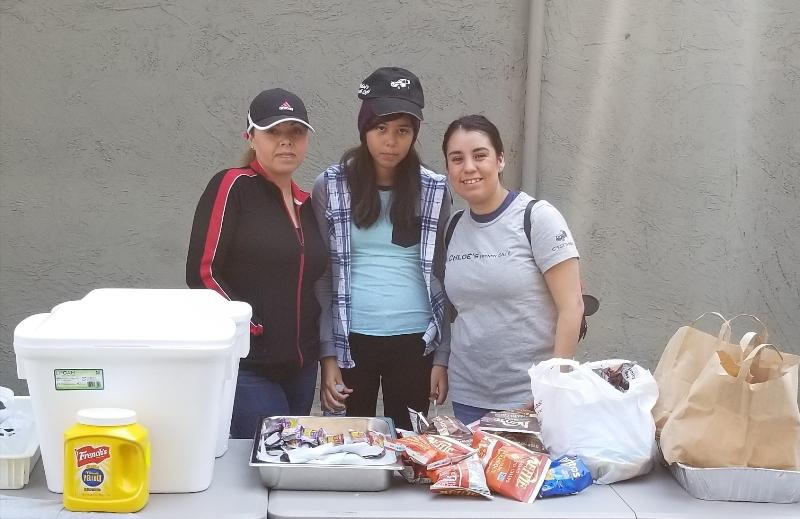 Volunteers at Local Assistance Center