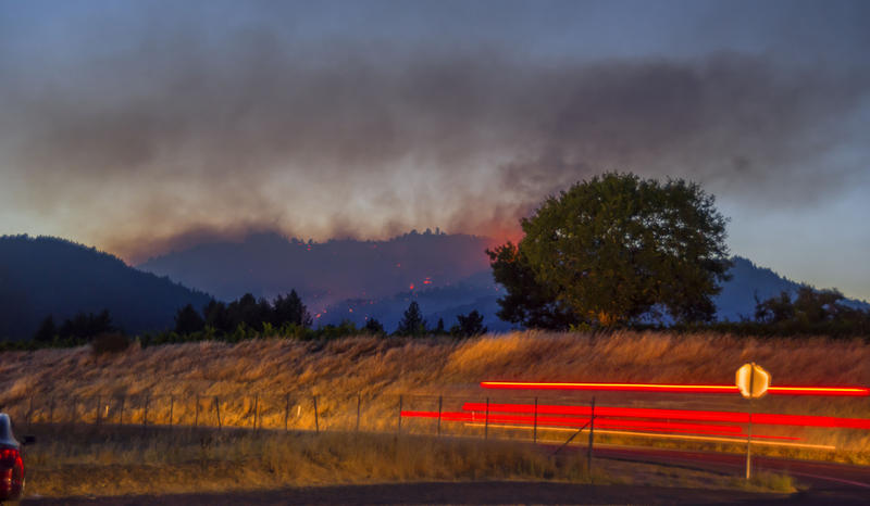 Redwood Valley North Bay fires