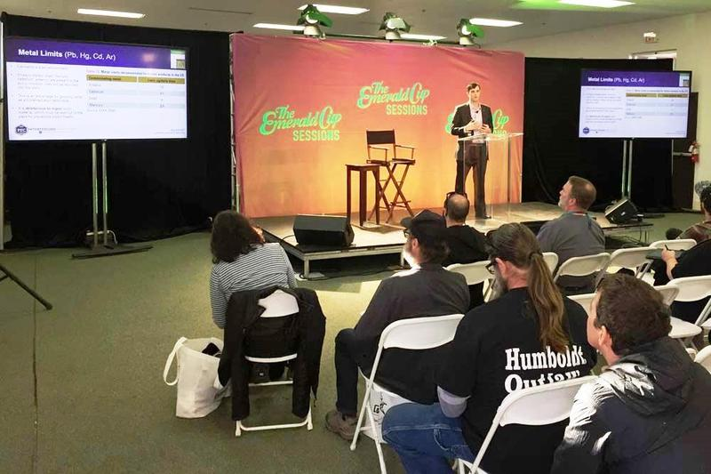 Presentation at Emerald Cup 2017