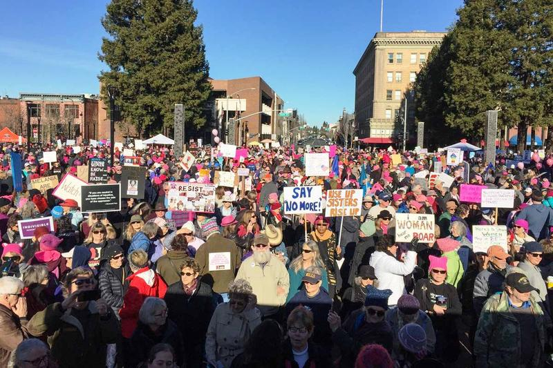 Women's rally Jan. 20 2018