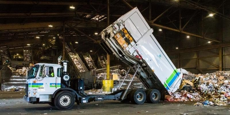Recology Truck