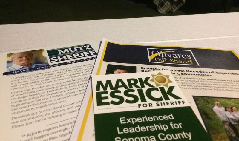 Sheriff candidate literature