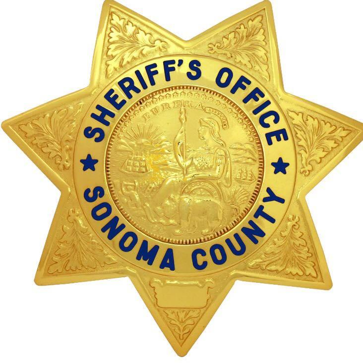 Sonoma County Sheriff's badge