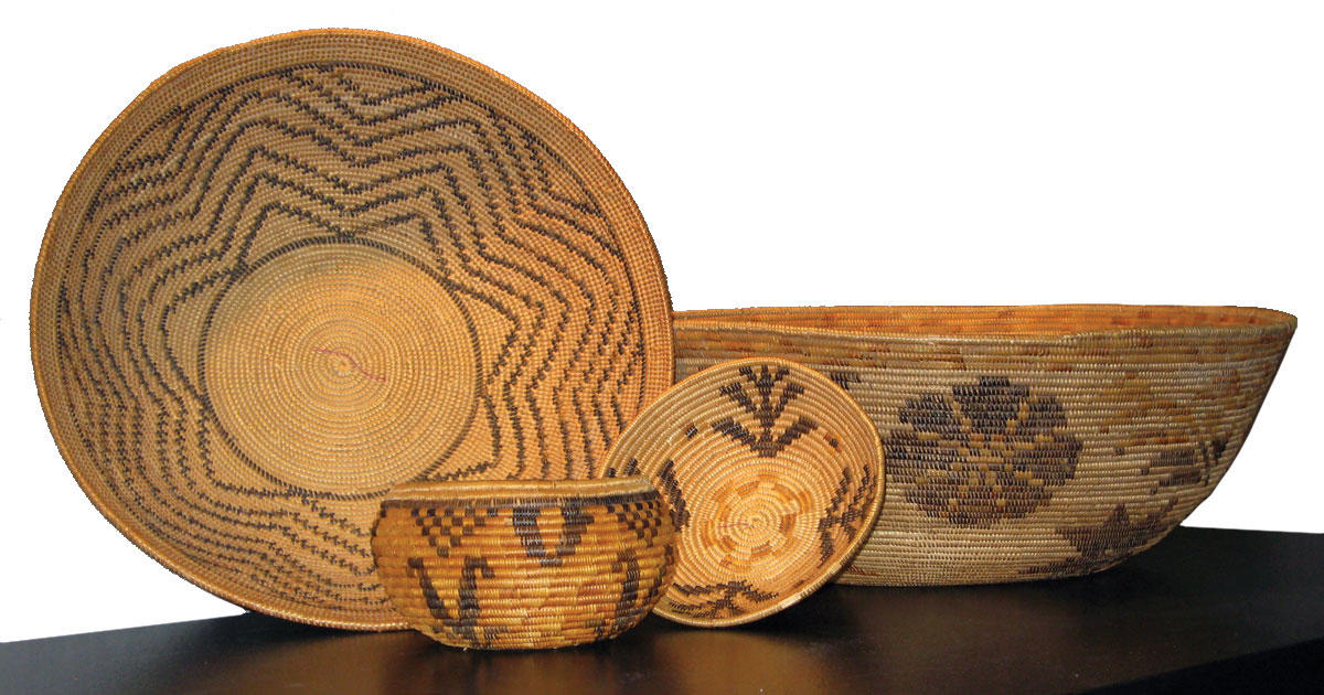 Native American Basket Weaving Instructions : Indian basket weaving in the st century krcb