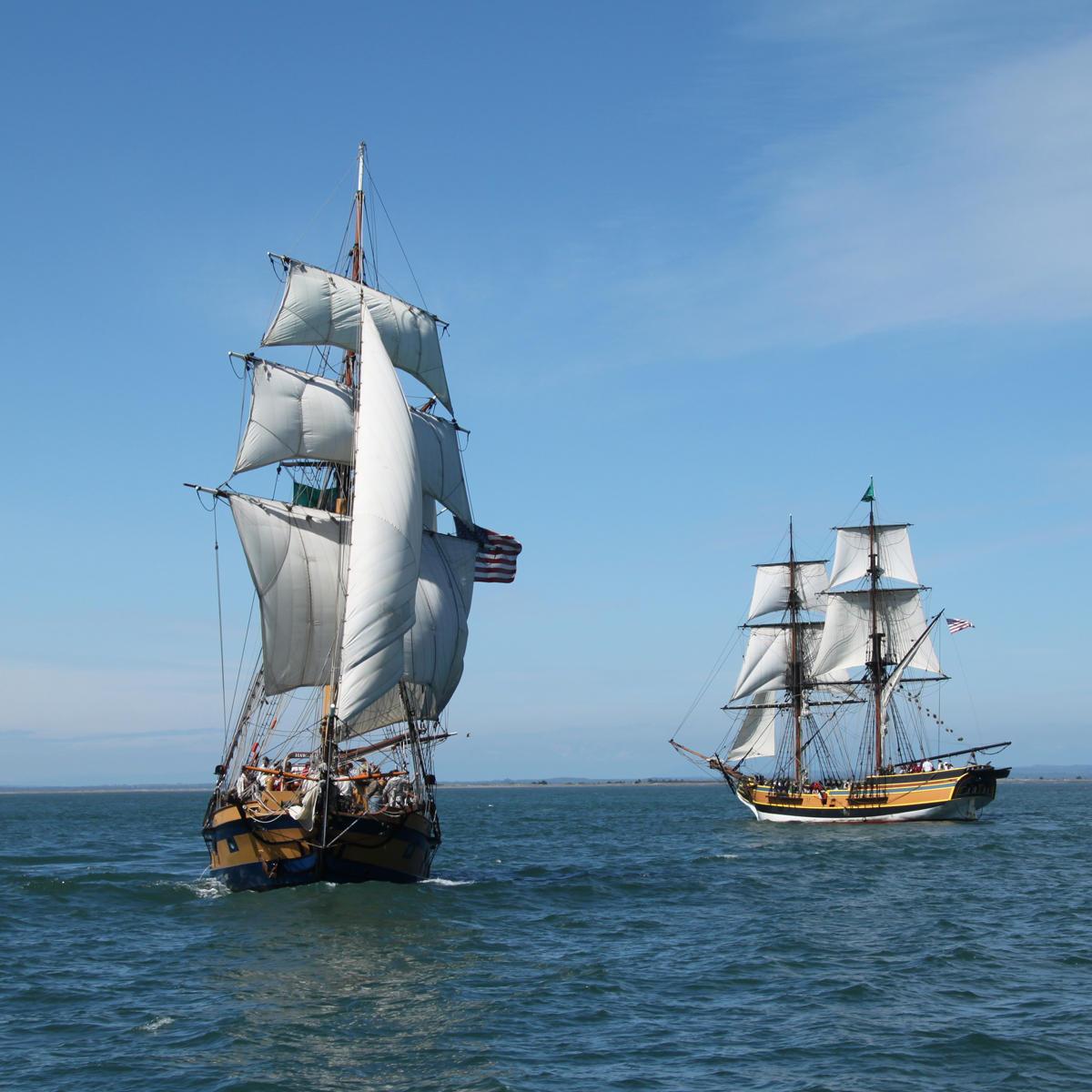 Tall Ships Return To Bodega Bay   KRCB