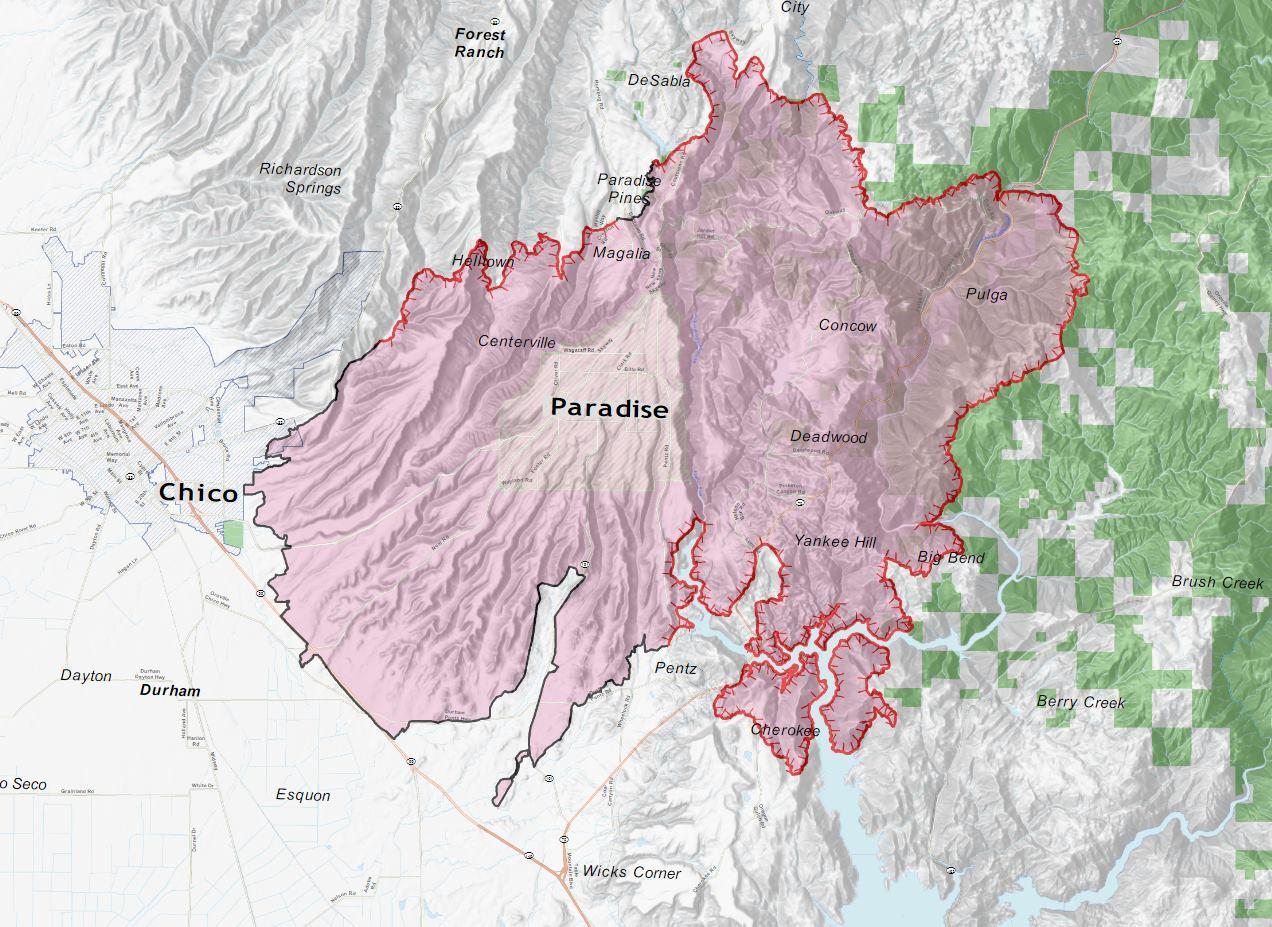 Camp Fire 135 000 Acres Still 35 Contained Death Toll Rises To