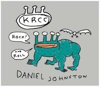 KRCC's Fall 2013 T-Shirt, designed by Daniel Johnston himself!