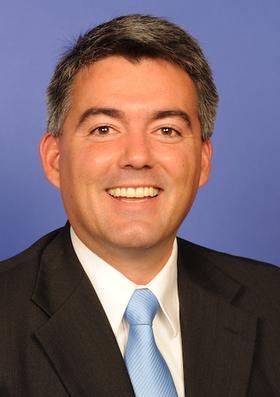 U.S. Representative Cory Gardner (R)