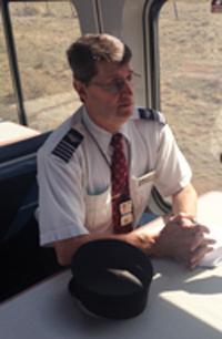 Amtrak Conductor Gary Norris
