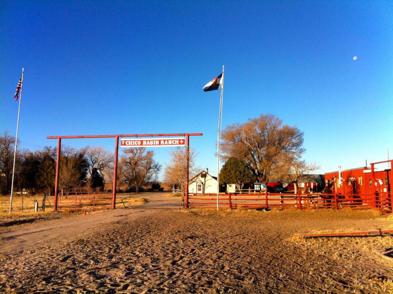 The main grounds of Chico Basin Ranch