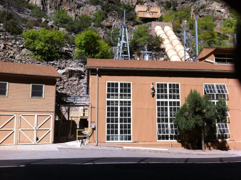The Shoshone hydroelectric powerplant holds the largest historic water right on the Colorado River.