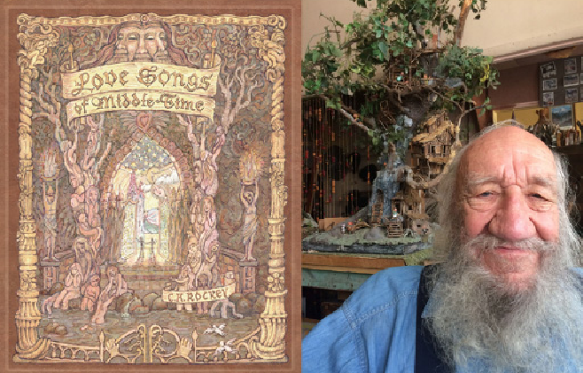 Charles Rockey and his new book, Love Songs of Middle Time