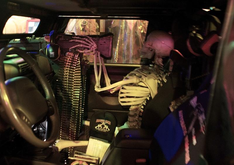 "Inside the ""Attack Vehicle"""