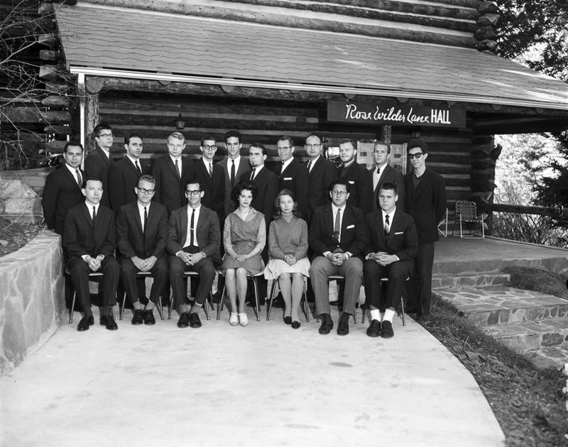 """Phrontistery Class"" by Stan Payne, 1964."
