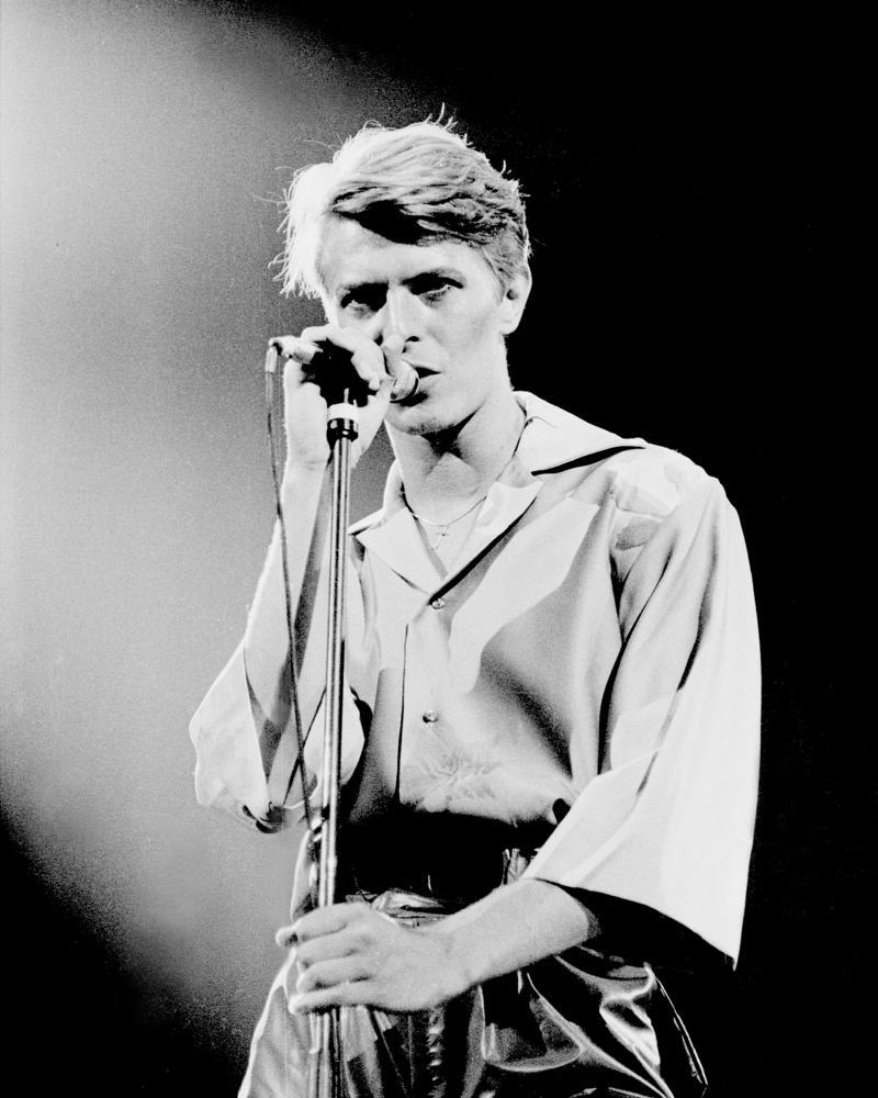 David Bowie, April 2, 1978, Fresno Convention Center, Fresno, CA