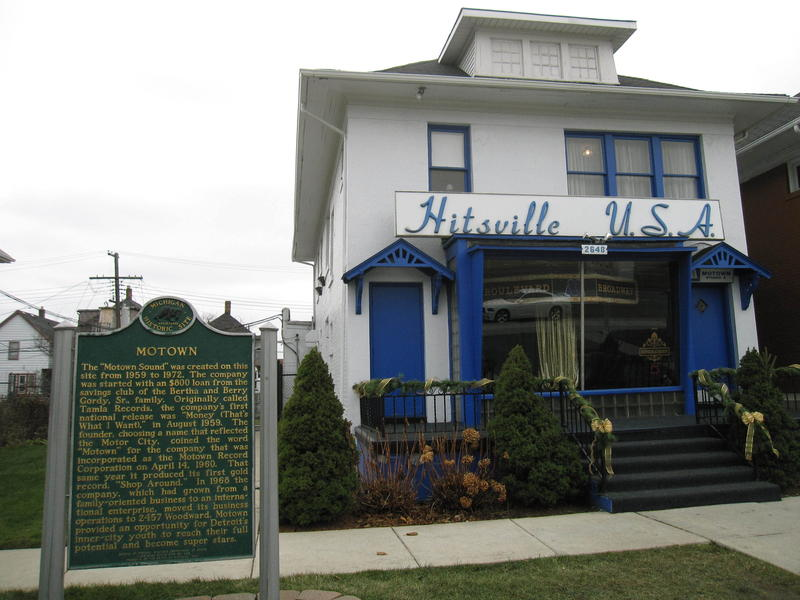 Hitsville, U.S.A., the legendary, Detroit, MI, recording studio of Motown Records.