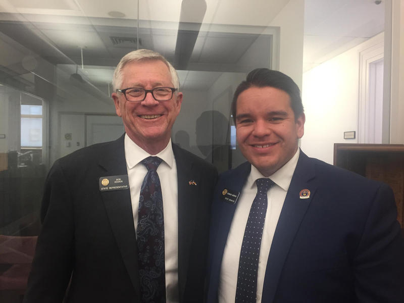 Republican Rep. Bob Rankin of Carbondale and Democratic Son. Dominick Moreno of Commerce City both serve on the budget committee.