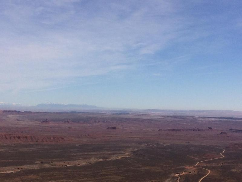 Bears Ears at Top of Moqui Dugway