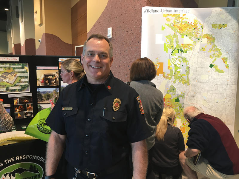 Colorado Springs Fire Marshal Brett Lacey.