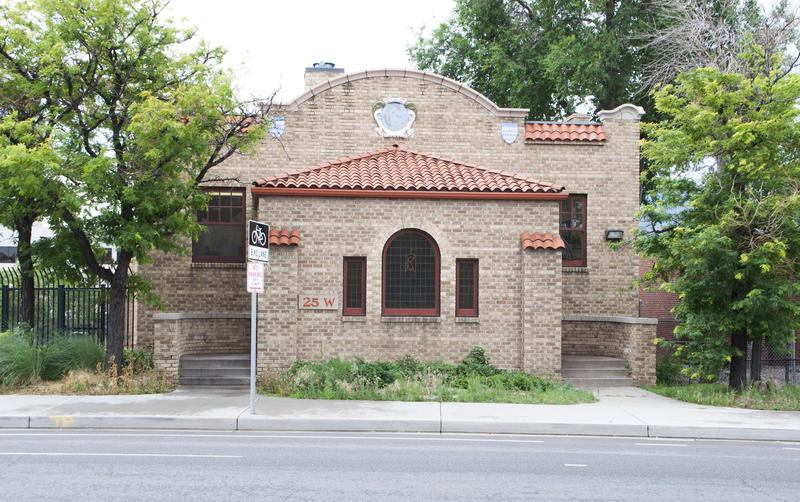 Knights of Columbus Hall, 25 W. Kiowa St. The building, which is owned by Pikes Peak Library District, is now hosting events organized by Flux Capacitor and other local DIY arts and music groups.