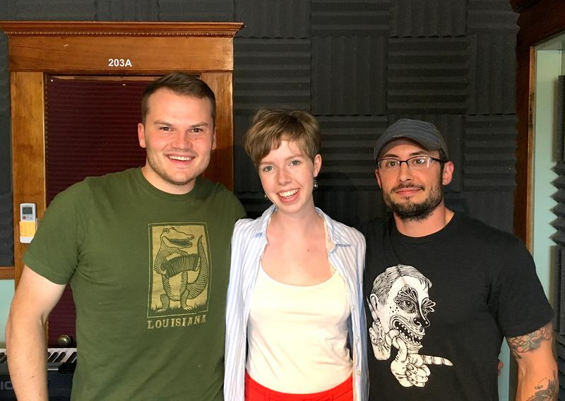 Bret Larson, Audrey Bussanich, and Stephen Masi make up 3/4 of the band Cold Heart Revival.