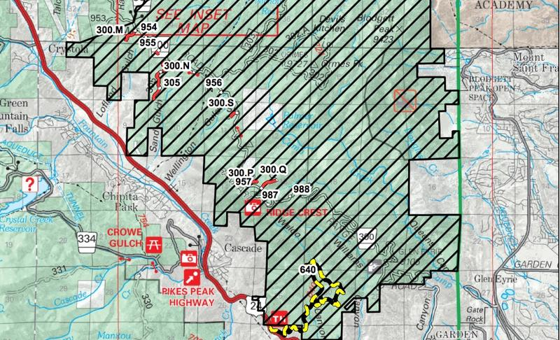 Parts of the Waldo Canyon burn area are reopening to the public. (See full map below)