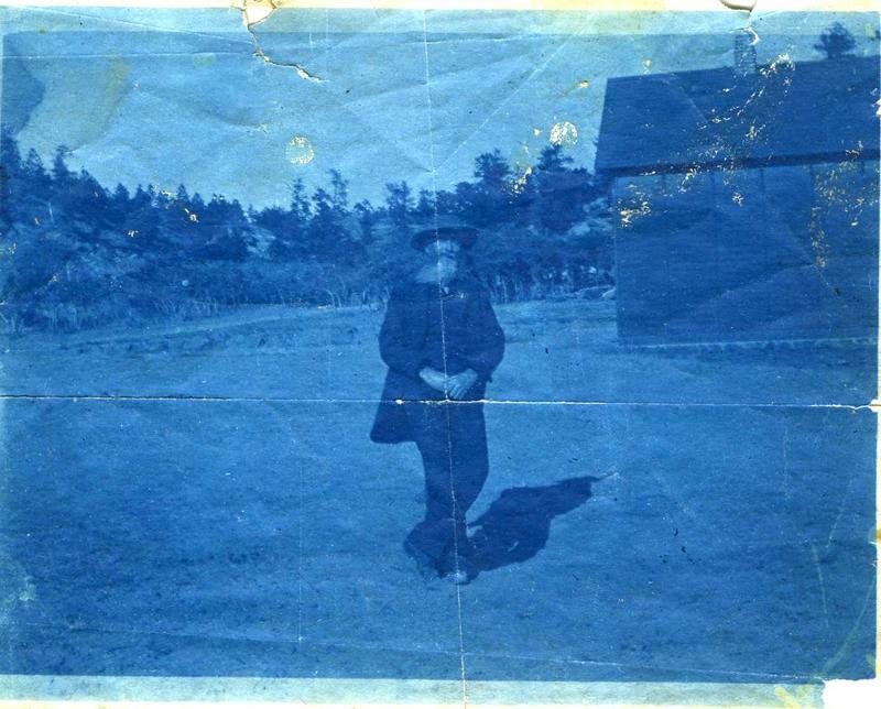 An undated photograph of AJ Templeton, namesake of Templeton Gap.