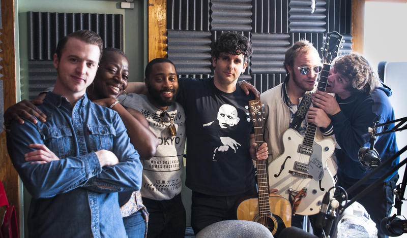 Members of the band Low Cut Connie in-studio at 91.5 KRCC.