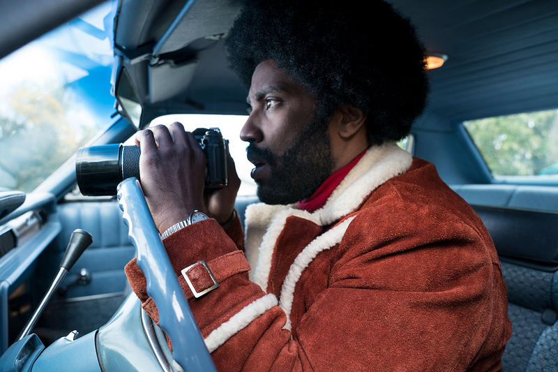"John David Washington plays CSPD Detective Ron Stallworth in the new film, ""BlacKkKlansman"""