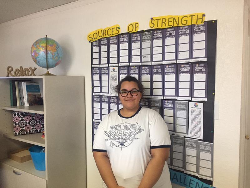 Camille Vallet is a Junior at Goal Academy in Pueblo, Colorado.