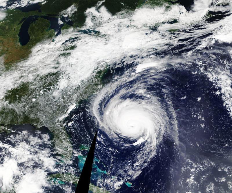 NASA's Terra satellite took this image of Hurricane Florence on Sept. 12, 2018.