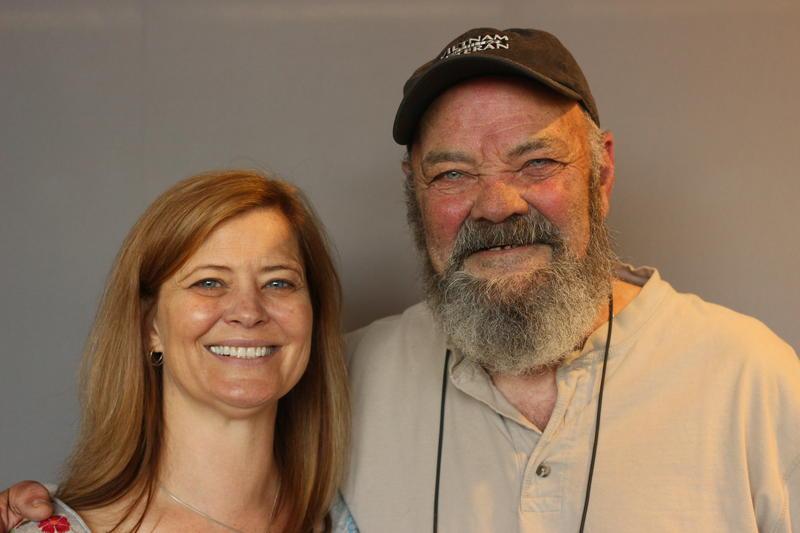 "Gordon ""Mike"" Moore with his daughter, Trisha Montoya"