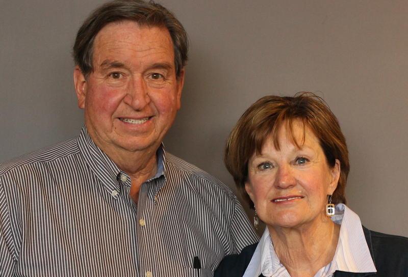 Dutch Shultz with his friend Donna Guthrie